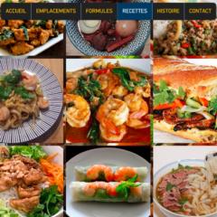 Food truck asiatique