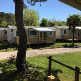 Mobil-home 3 chambres 8 personnes