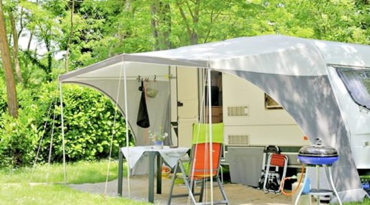 Emplacements nus camping Vendee
