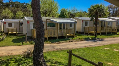 location mobil-home neuf camping vendee