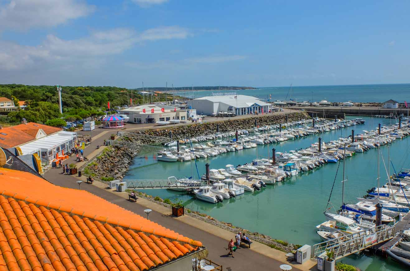 camping proche port bougenay