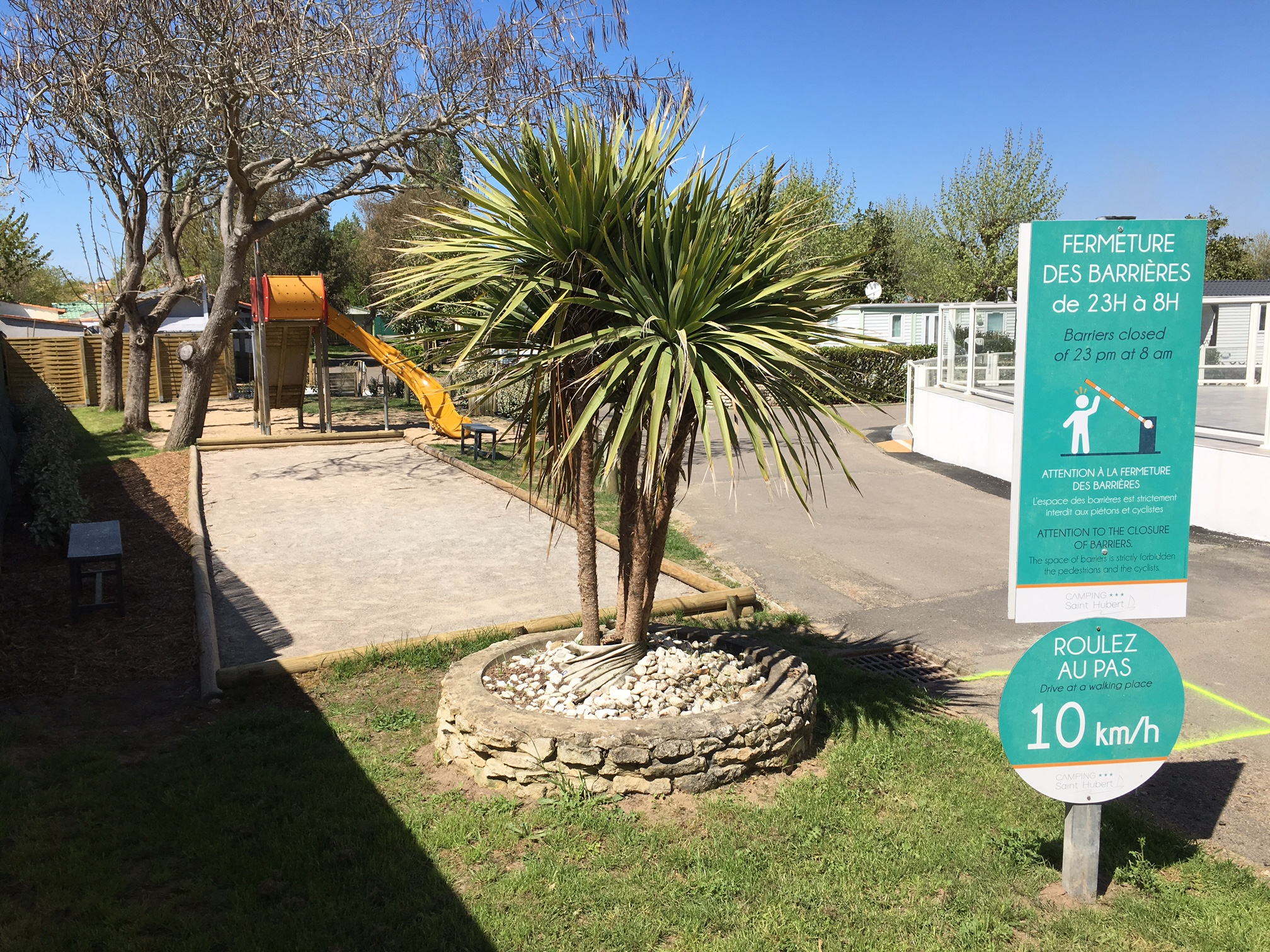Aire de jeux du camping en Vendée