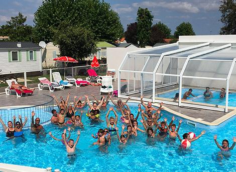 camping avec piscine et activités