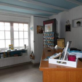 Accueil du Camping Saint Hubert à Talmont Saint Hilaire en Vendée