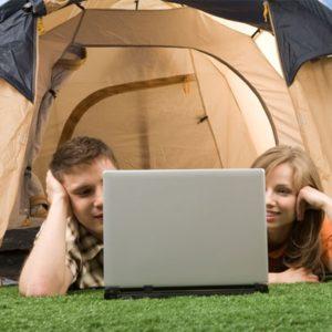 camping avec wifi