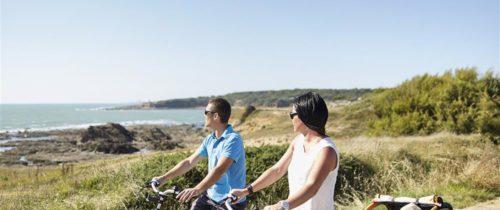 le littoral en vélo